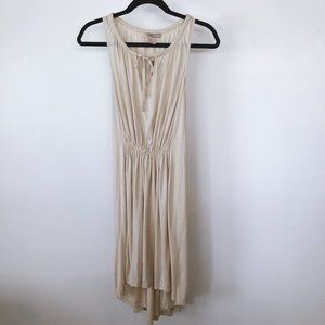NWT FOREVER 21 Oatmeal High Low Dress